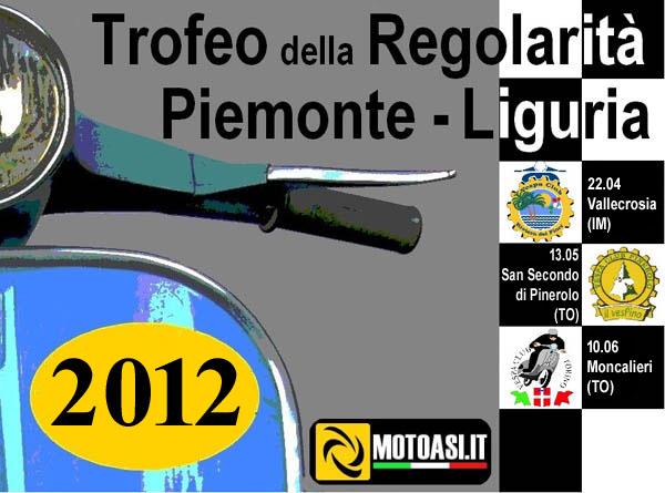 Trofeo Regolarità Piemonte-Liguria 2012