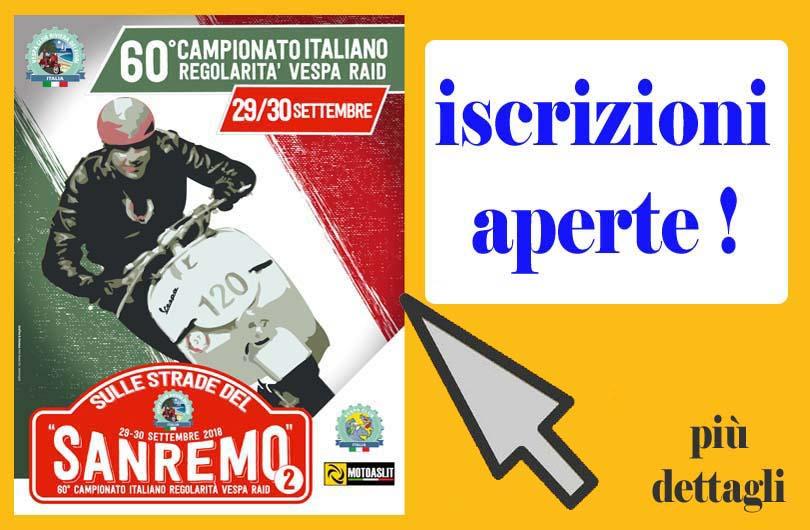Campionato Italiano Vespa Raid 2018
