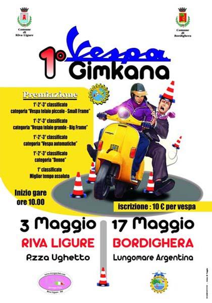 17/05/2009 - BORDIGHERA - 1^ Vespa Gimkana