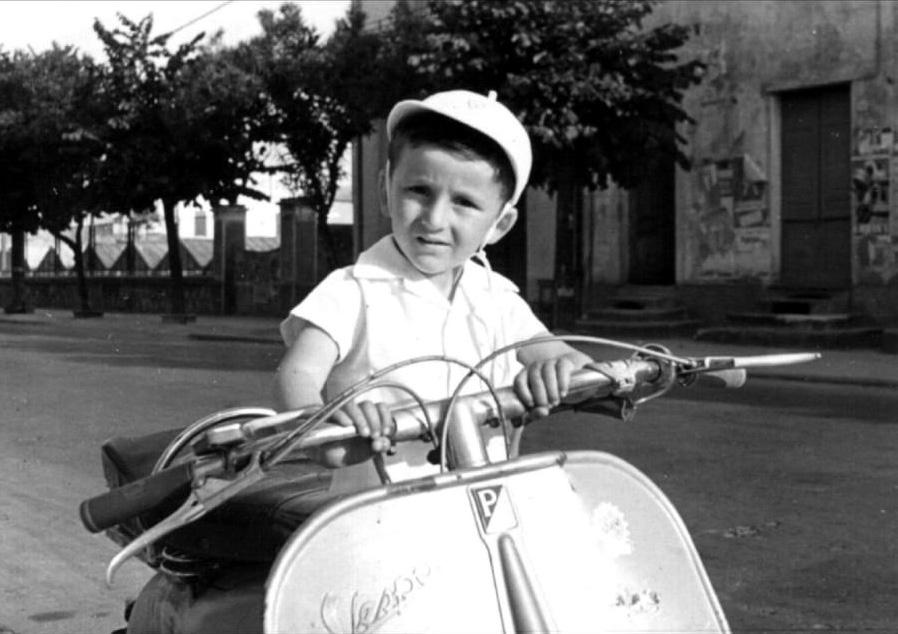 1955: Vallecrosia - Sandro Biamonti