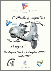 "1° Meeting Vespistico ""in sella al sogno"""